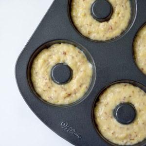 Vegan Lemon Baked Doughnuts