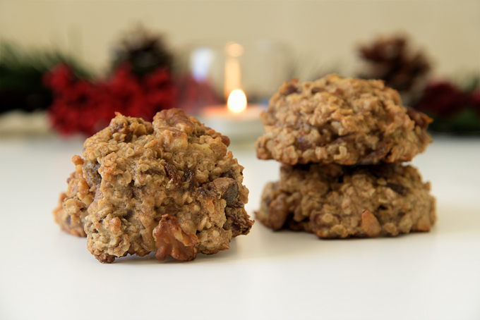 recipe: oatmeal date walnut cookies [11]