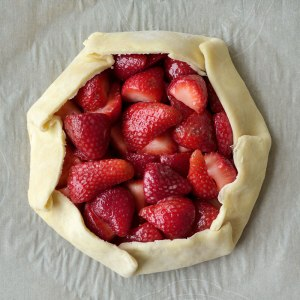 Fresh Strawberry Galette