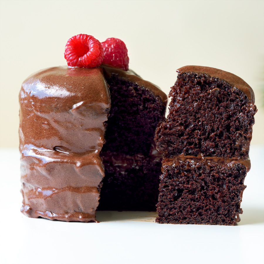 Vegan Chocolate Fudge Cake