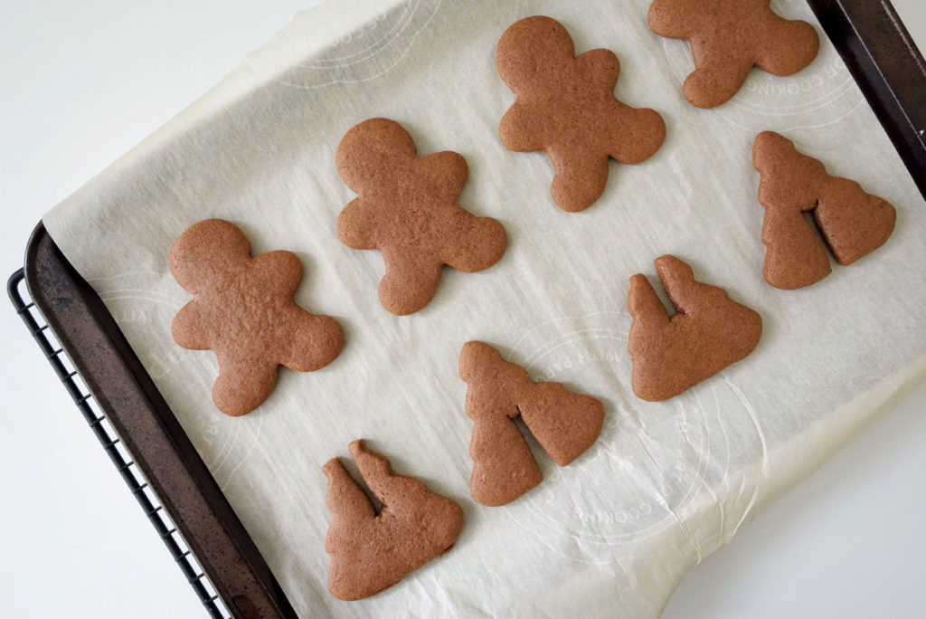Vegan Chocolate Orange Gingerbread Cookies
