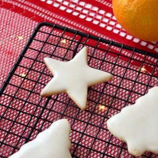 Vegan Orange Butter Cookies