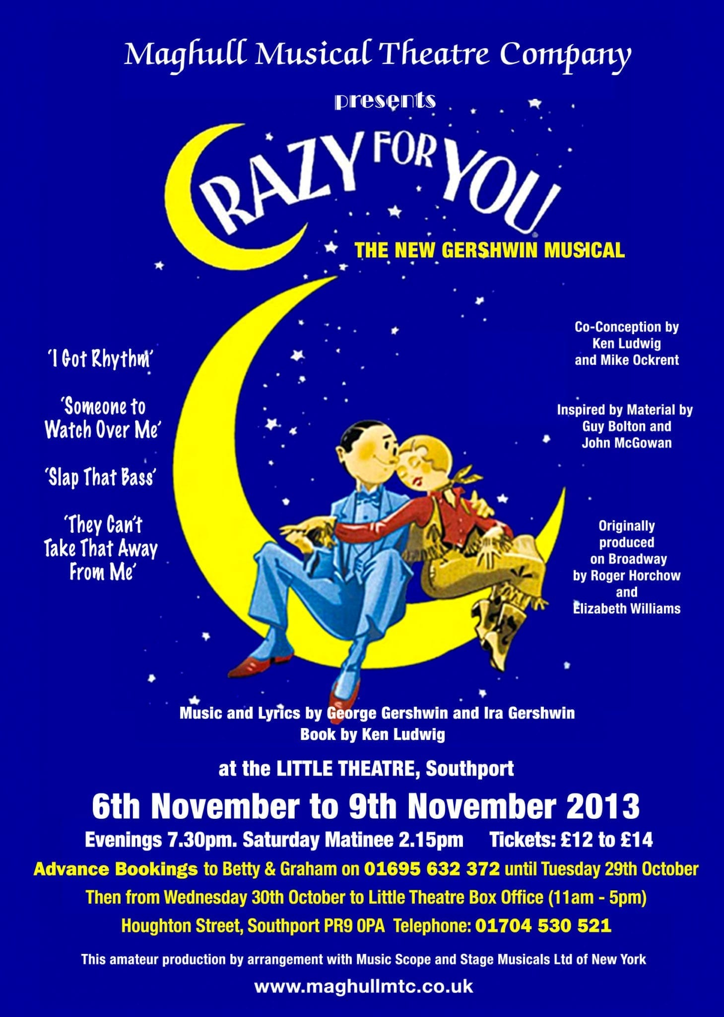 Maghull Musical Theatre Company  Crazy for You  Little