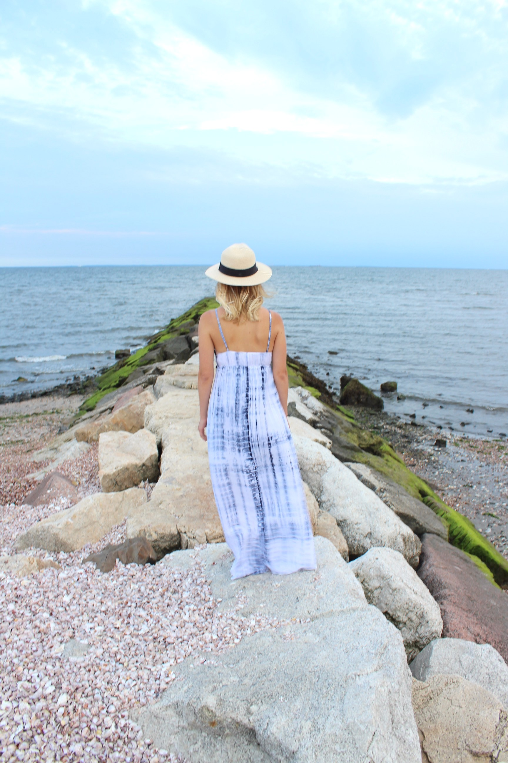Target Crochet Tie-Dye Maxi Dress little things olga connecticut style blog how to stop comparing yourself to others