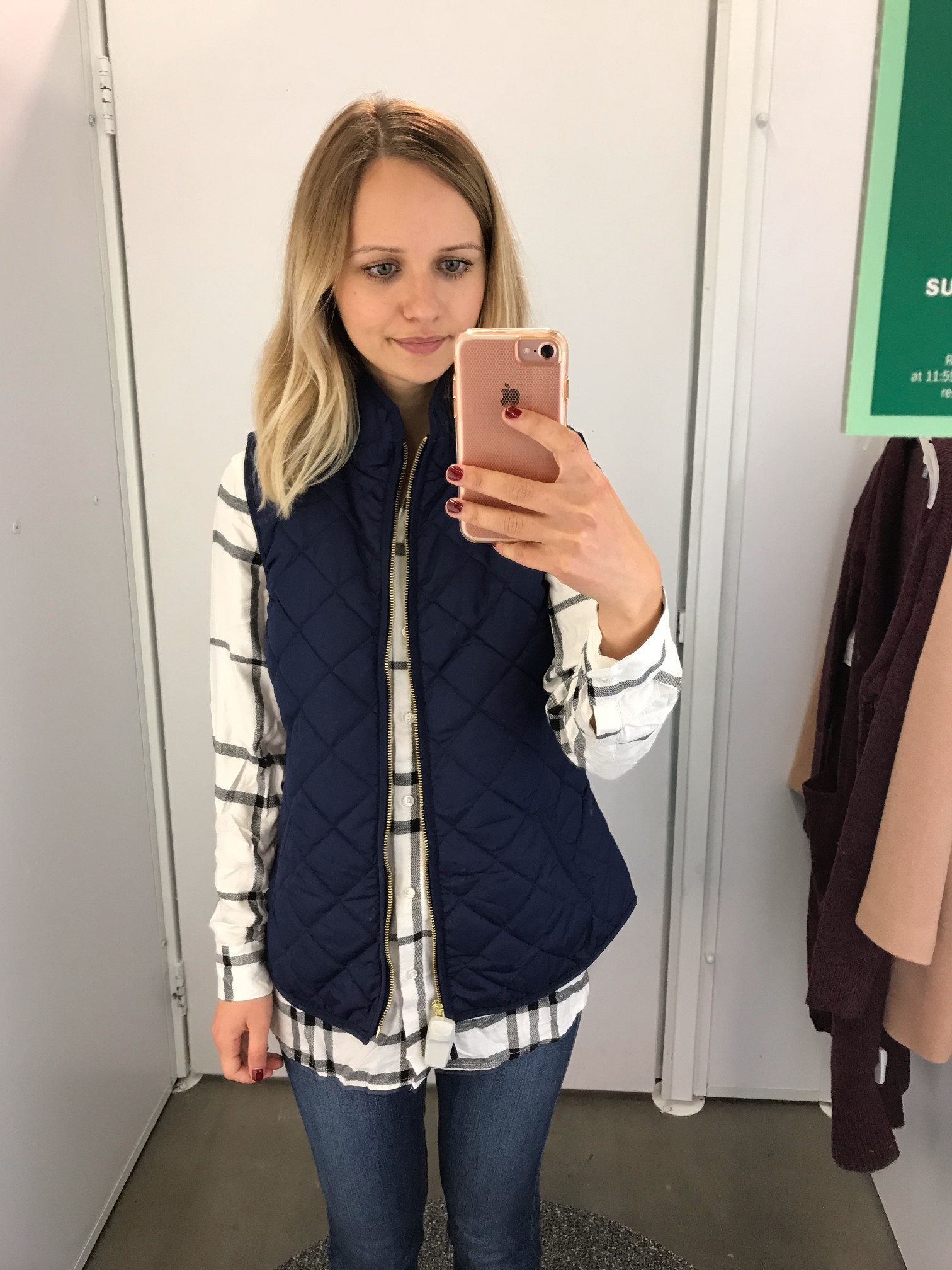 Old Navy Quilted Vest | Little Things Olga