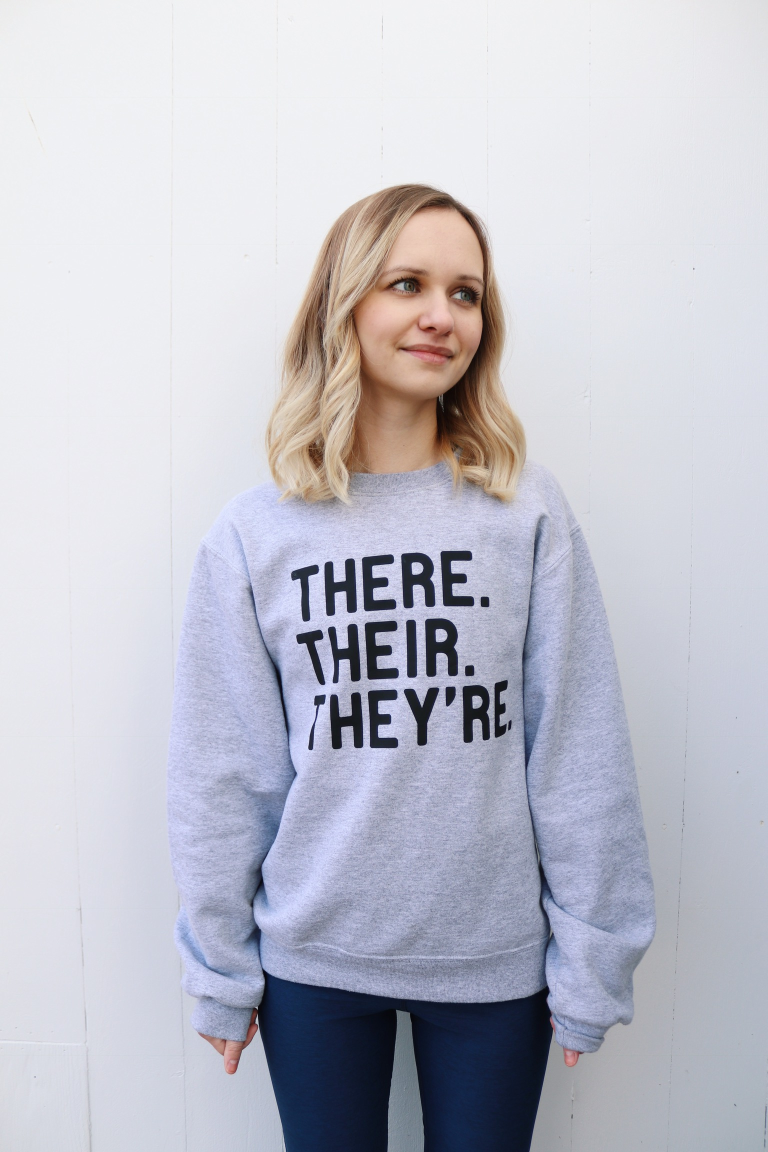 There Their They're Sweatshirt | January Favorites by Little Things Olga