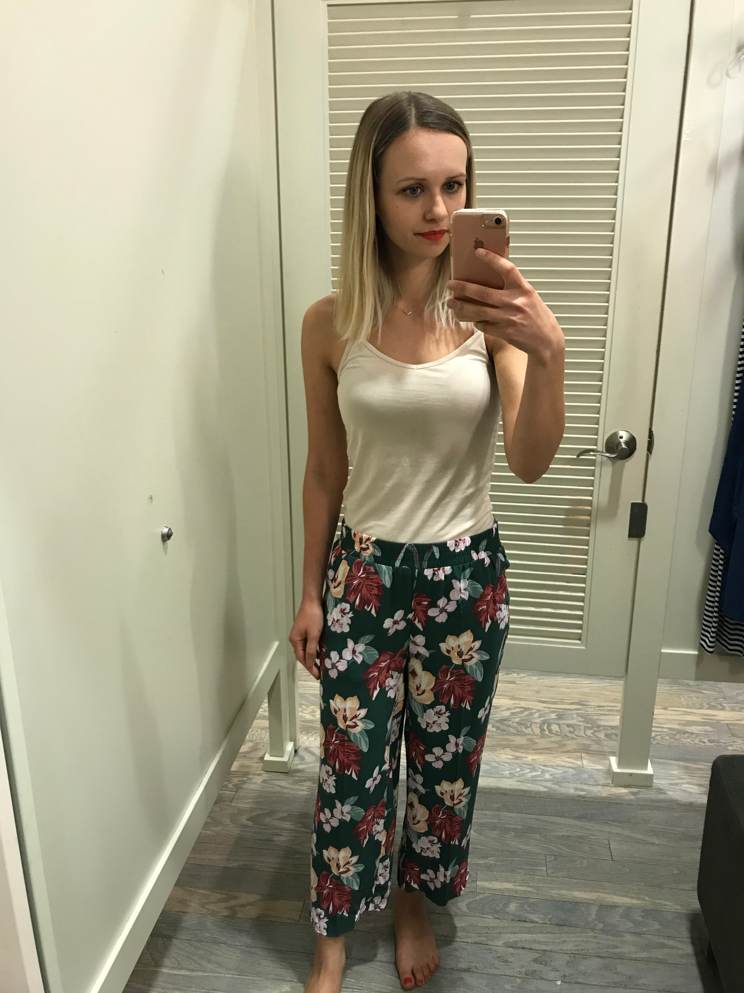 1c78adb8969 LOFT Tropical Fluide Pants - Fitting Room Adventures