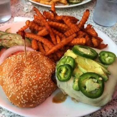 Avocado Jalapeño Burger