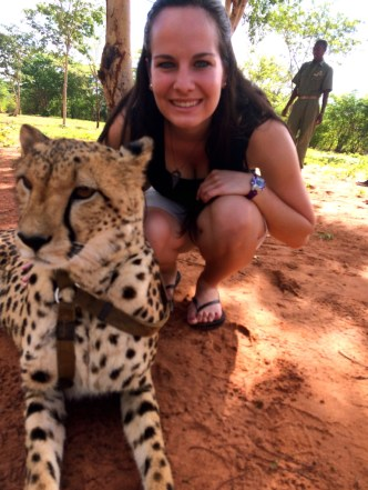 Run with the Cheetahs | Little Things Travel Blog