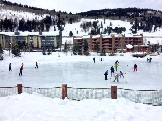 Copper Mountain Ice Skating Rink