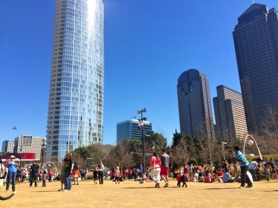Klyde Warren Park Dallas Texas
