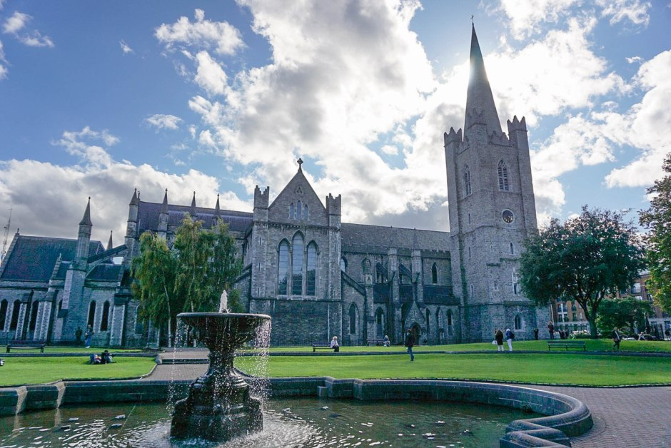 St. Patrick's Cathedral Park View Dublin