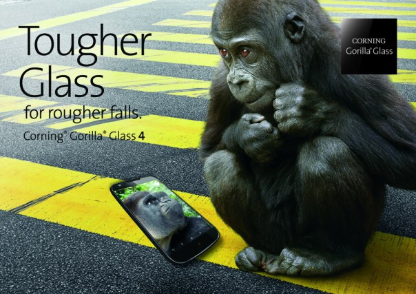 Corning Gorilla Glass - Tougher Glass for Rougher Falls