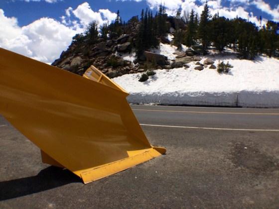 RMNP Snow Plow