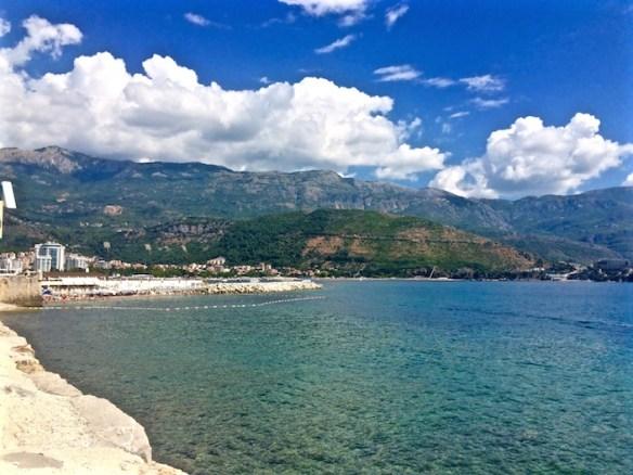 Mountains of Budva Montenegro