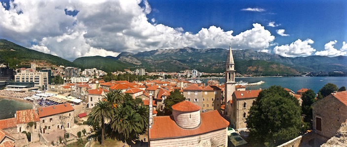 Panoramic Views in Budva