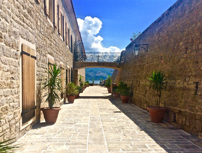 Walking Through Citadela in Budva