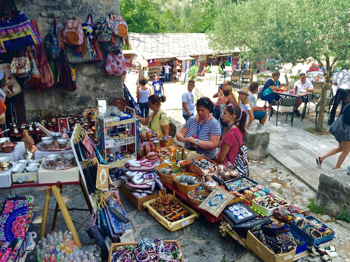 Goods being sold in Pocitelj