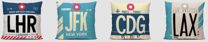 Airportag Pillows