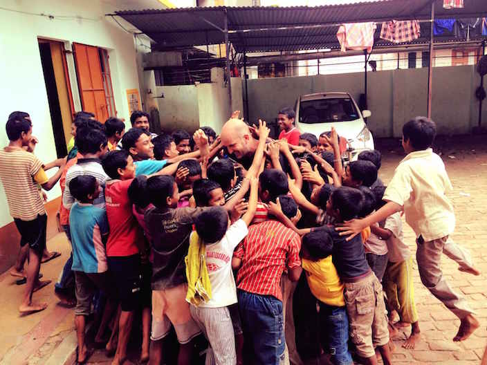 Kids at Orphanage - The Kindness Diaries