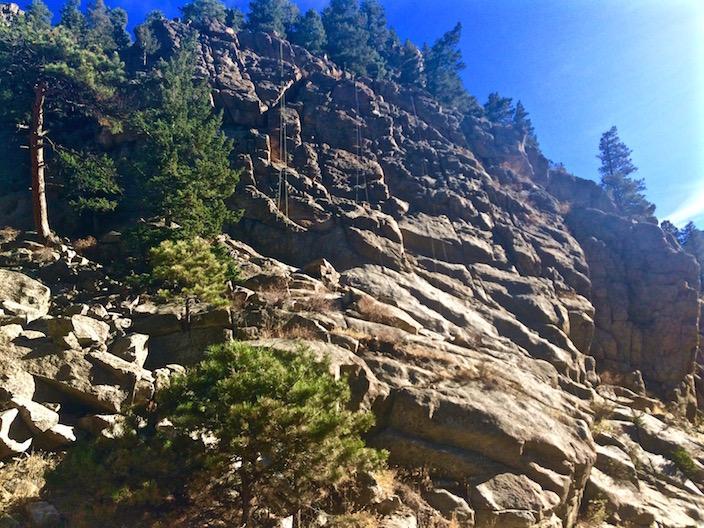 Rock Climbing Boulder Colorado