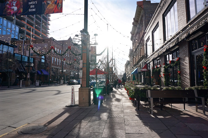 Larimer Square - One day in Downtown Denver