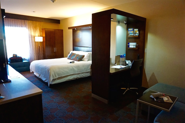 SpringHill Suites Room and Work Space