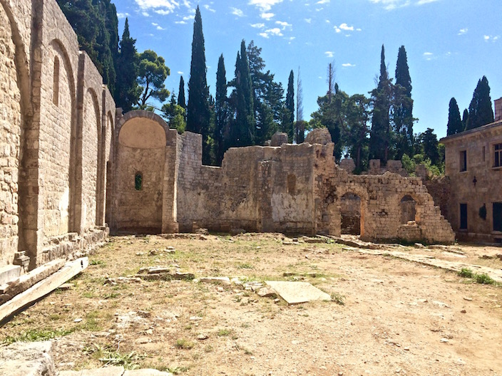 Benedictine Monastery Ruins Island of Lokrum