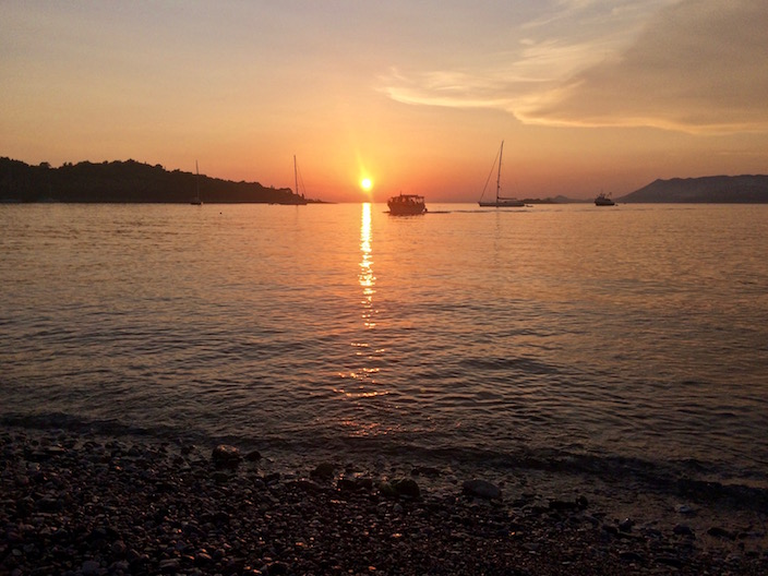 Cavtat Croatian Sunset