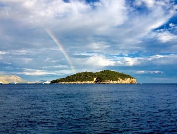 Rainbow Island of Lokrum Croatia