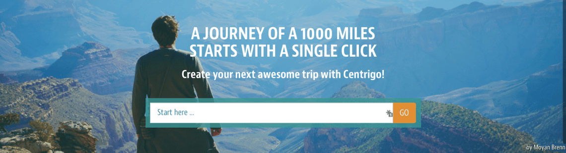 A Journey of 1000 Miles Starts With a Single Click - Centrigo