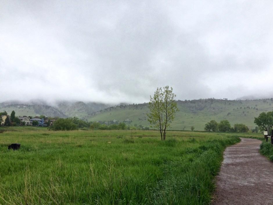 Ominous Boulder Rain Clouds