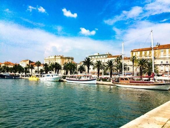 Croatia Itinerary - Split Riva