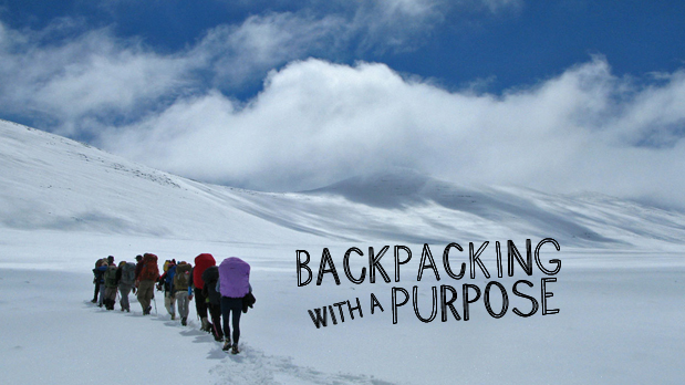 Backpacking with Purpose - Operation Groundswell