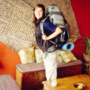 Megan Arzbaecher Backpacking