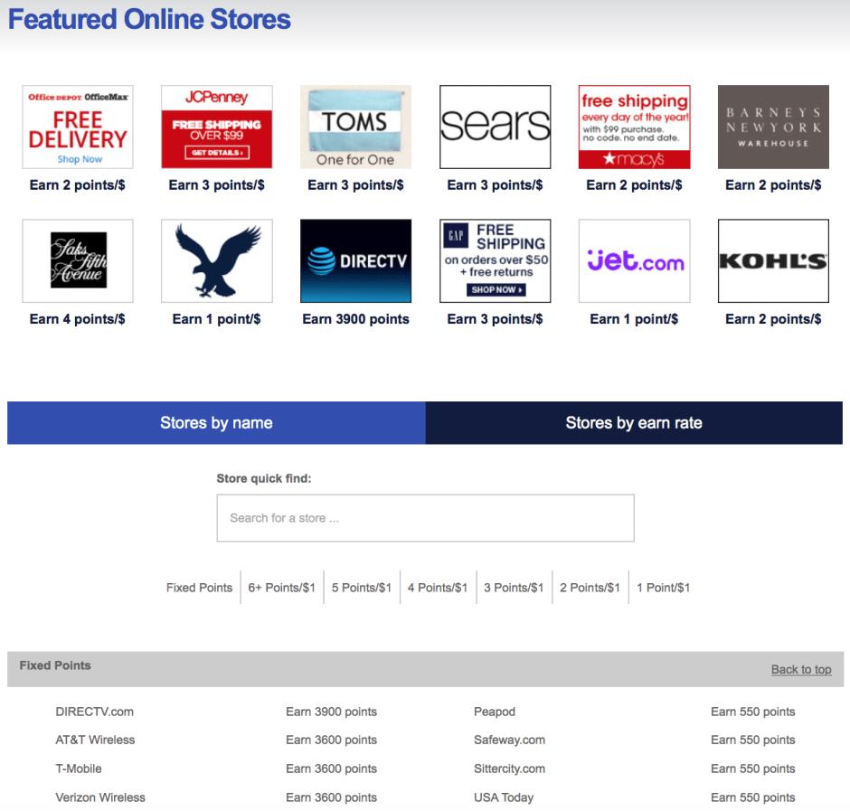 Rapid Rewards Southwest Shopping Portal