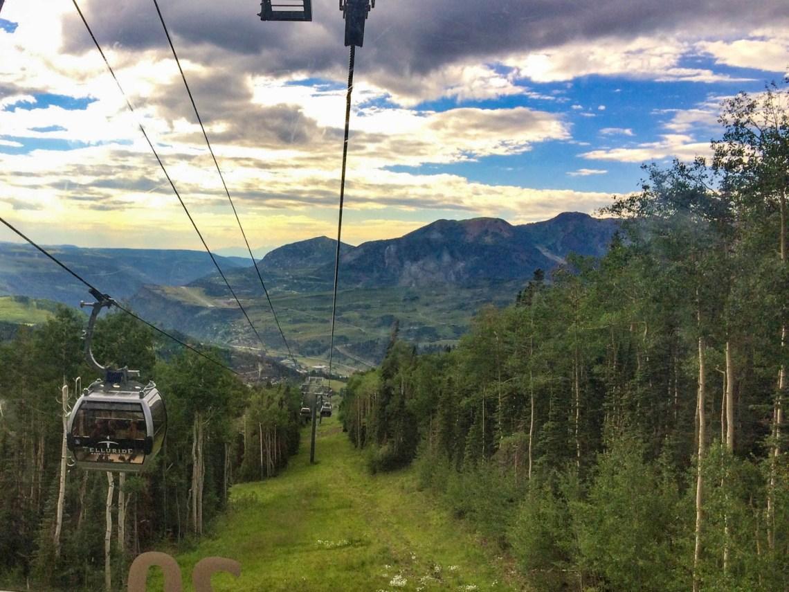 Telluride Gondola - Southwestern Colorado Road Trip