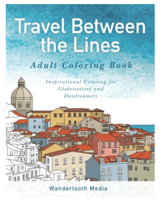 Adult Travel Coloring Book - 2017 Travel Gift Guide