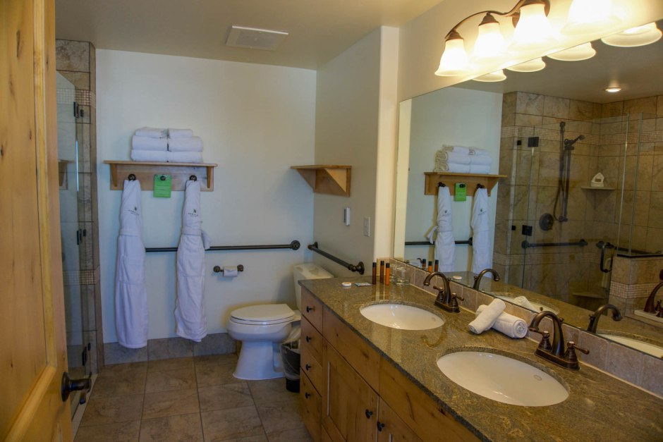 Newpark Resort Bathroom Park City Utah