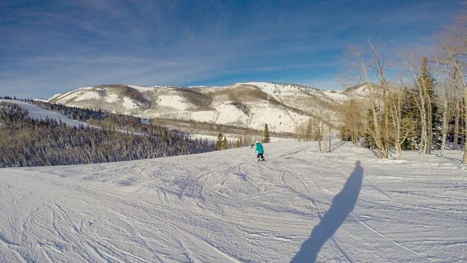 Skiing Park City Mountain