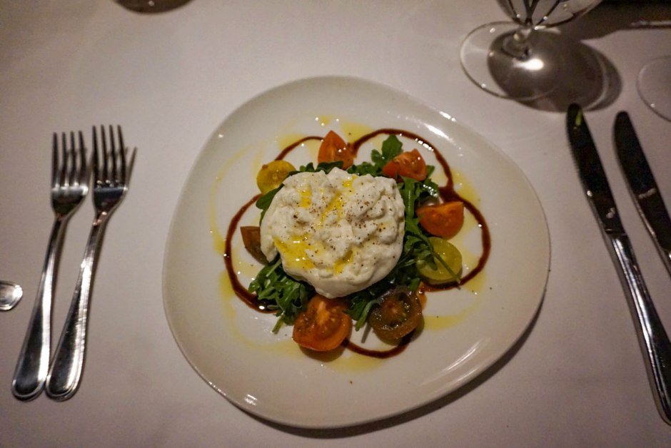 The Mariposa at Deer Valley - Burrata fresh basil heirloom cherry tomatoes salad