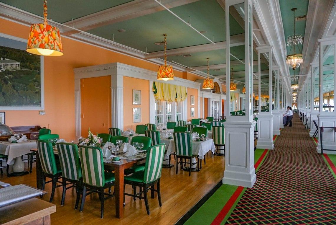 Grand Hotel Afternoon Tea Mackinac Island