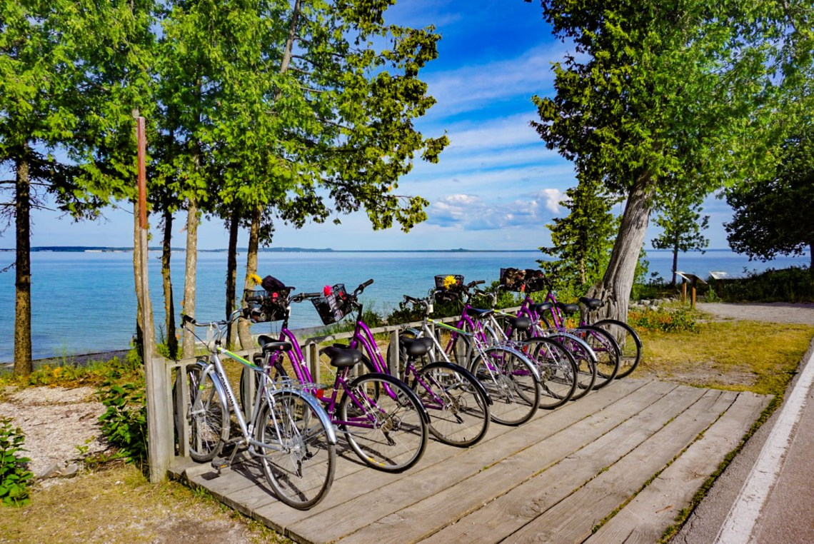 Mackinac Island Biking