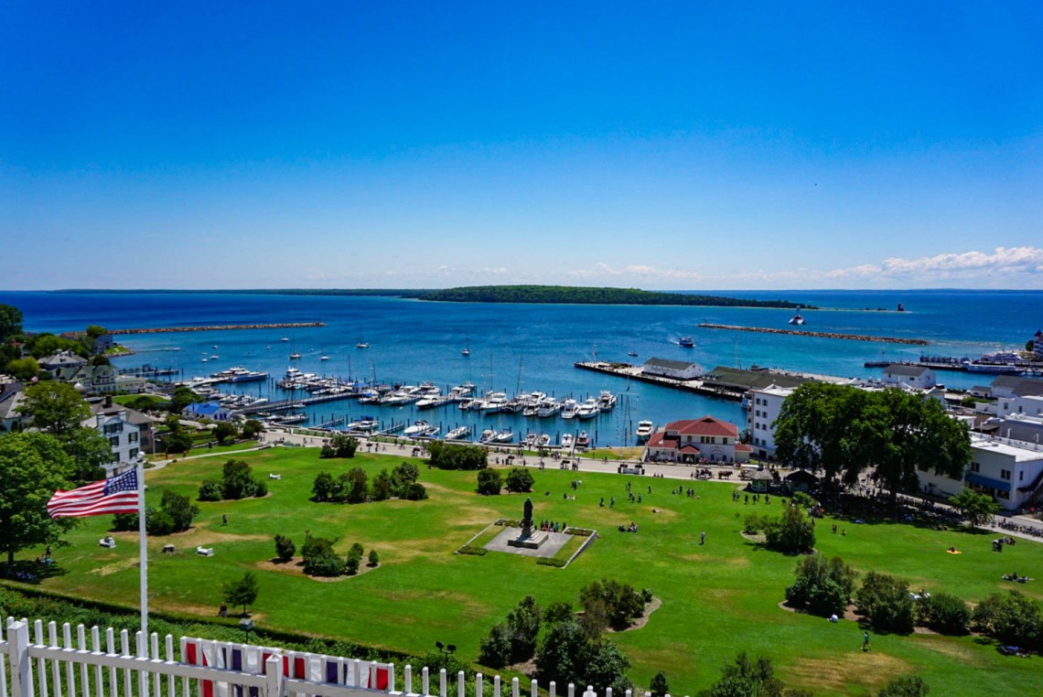 Marquette Park Mackinac Island Travel Guide