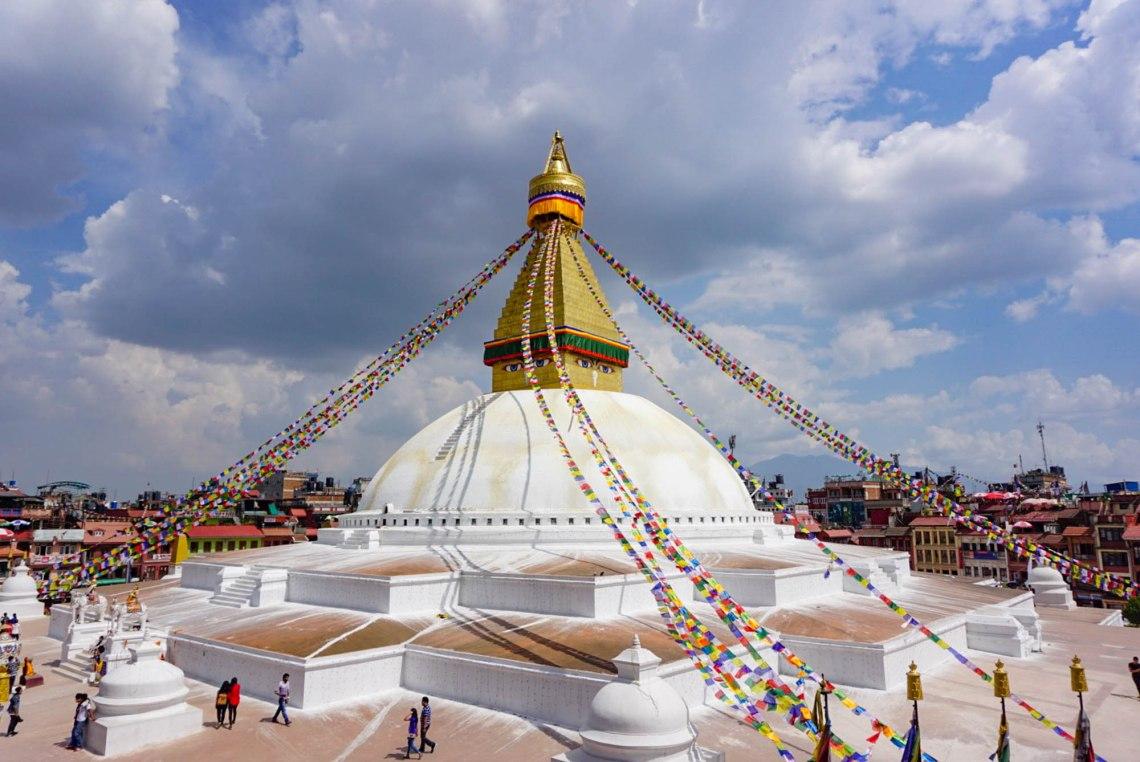 Bouddhanath Stupa Kathmandu Nepal