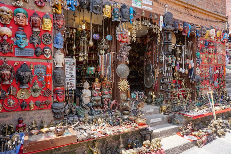 Souvenir Shops Thamel - Things to do in Kathmandu Nepal