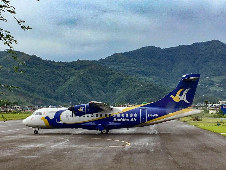Buddha Air Pokhara Nepal