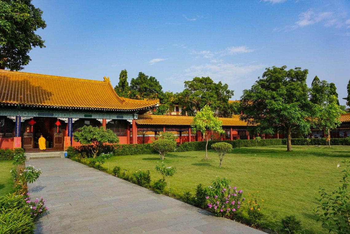 Buddhist Monk Lumbini Nepal