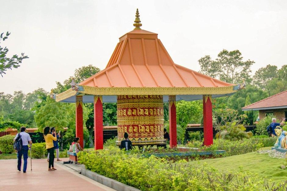 Prayer Wheel Lumbini Nepal