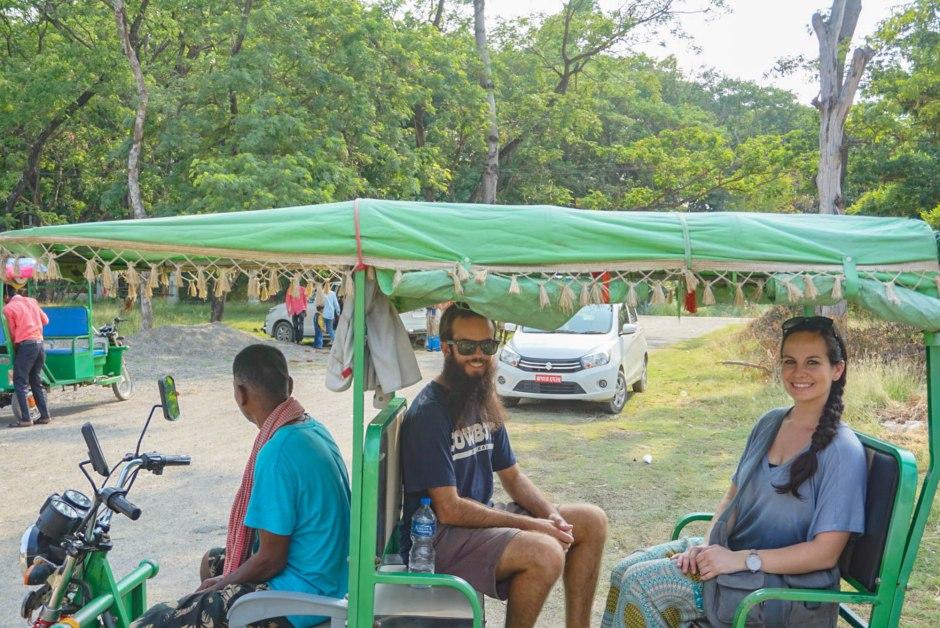 Rickshaw Lumbini Nepal